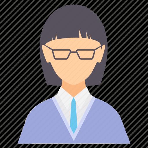 avatar, education, female, girl, graduation, student, study icon