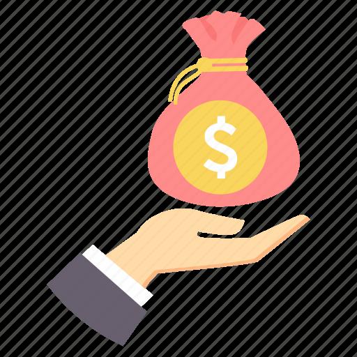 bank, funds, loan, money, save, saving, savings icon