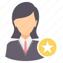 achievement, employee, favorite, favourite, rating, star icon