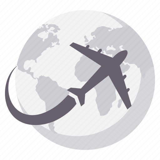 business, flight, holiday, tour, travel, vacation, world icon