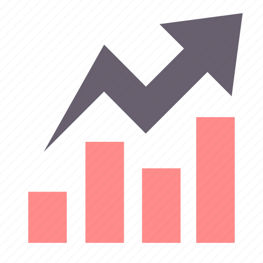 analysis, analytics, chart, diagram, graph, growth, success icon
