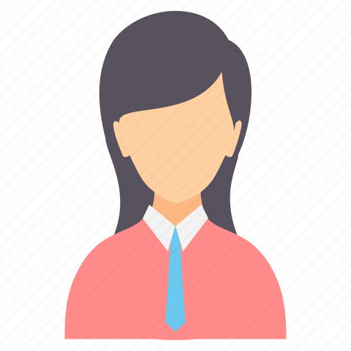 account, avatar, character, female, girl, person, profile icon