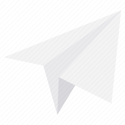 email, message, paper plane, post, send icon