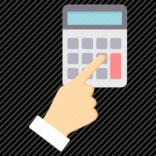 accounting, calc, calculate, calculating, calculation, calculator icon