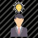 idea, innovation, bulb, business, creative, light, mind