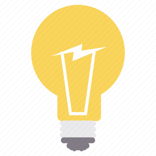 bulb, creative, design, electric, graphic, innovation icon