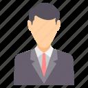 boss, manager, avatar, business, businessman, man, profile