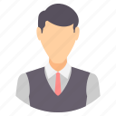 boss, manager, person, avatar, man, people, profile