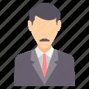 boss, employee, avatar, business, office, profile, user