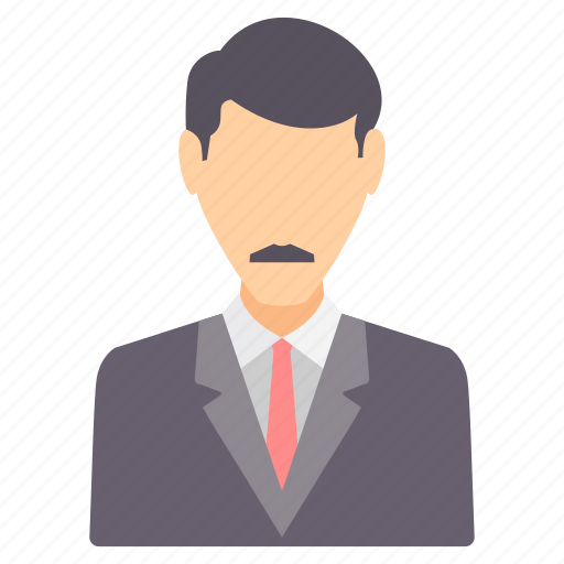 avatar, boss, business, employee, office, profile, user icon