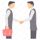 agreement, deal, handshake, partner, partnership, shakehand icon