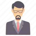 avatar, business, employee, finance, money, profile, user icon
