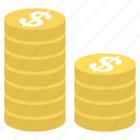 coins, business, currency, finance, money, office, payment