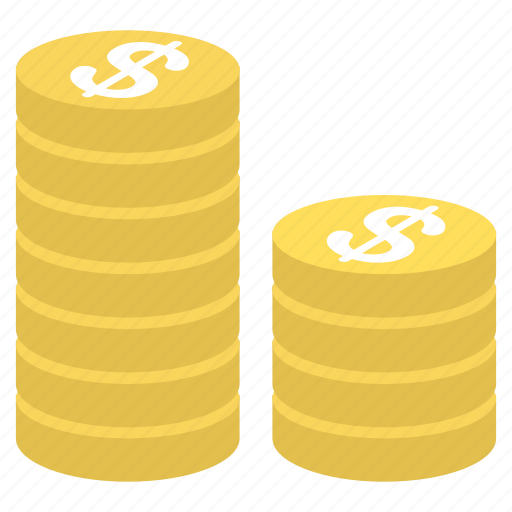 business, coins, currency, finance, money, office, payment icon