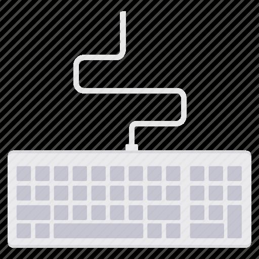 computer, device, hardware, input, keyboard, keys, technology icon