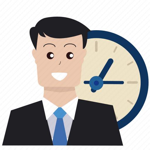 boss, business, businessman, deadline, optimization, time, watch icon