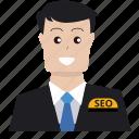 boss, business, customer service, ecommerce, marketing, seo, targeting icon