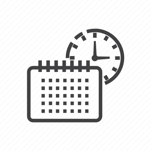 Panning, shedule, calendar, clock, planning icon - Download on Iconfinder