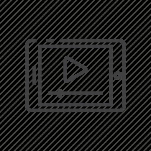 marketing, media, multimedia, player, video icon