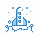 advertising, business, launch, marketing, start, startup icon