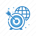 business, global, marketing, network, seo, target icon