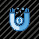 business, cash, dollar, finance, marketing, money, revenue icon