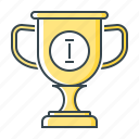 achievement, award, goblet, trophy, reward, cup