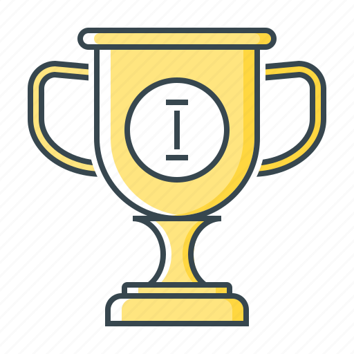 achievement, award, cup, goblet, reward, trophy icon
