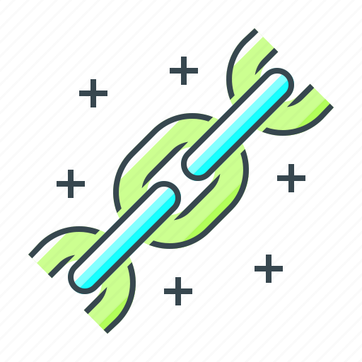 building, chain, connection, links, optimization icon
