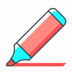 direction, felt-tip pen, mark, marker, pin, pointer icon