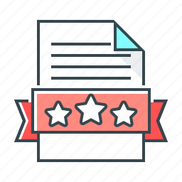 file, page, page quality, quality, stars, website icon