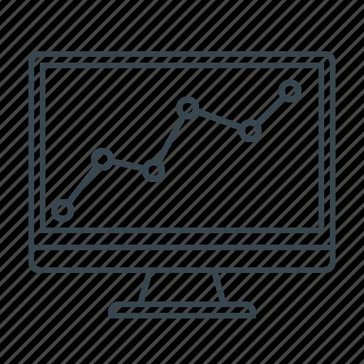 analysis, analytics, chart, graph, marketing, monitoring, statistics icon