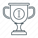 achievement, award, chalice, cup, goblet, reward icon