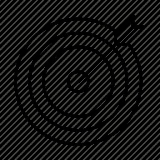 achievement, aim, goal, target icon