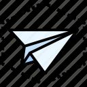 email, envelope, launch, marketing, rocket icon