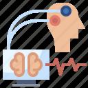 brainwave, connection, education, electronics, technology icon