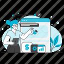 seo, marketing, business, chart, office, statistics, management