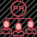 conection, head, marketing, people, talk icon
