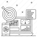 online, statistics, business, marketing, sales, analytics, pie chart
