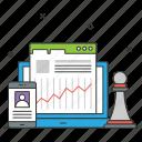 crm, relationship, dashboard, analytics, chess piece, statistics, business growth