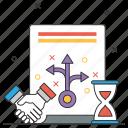 strategic, partnership, contract, handshake, deal, business, agreement