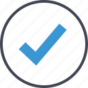 approved, business, check, mark, ok icon