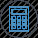 calculation, calculator, math, percent icon