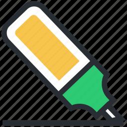 board marker, highlighter, marker, marker pen, stationery icon