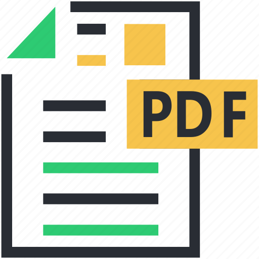 pdf, pdf extension, pdf file, pdf format icon