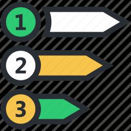 alignment, bullet list, list, menus, options icon