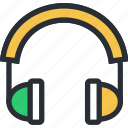 audio, earphone, headphone, headset, sound icon