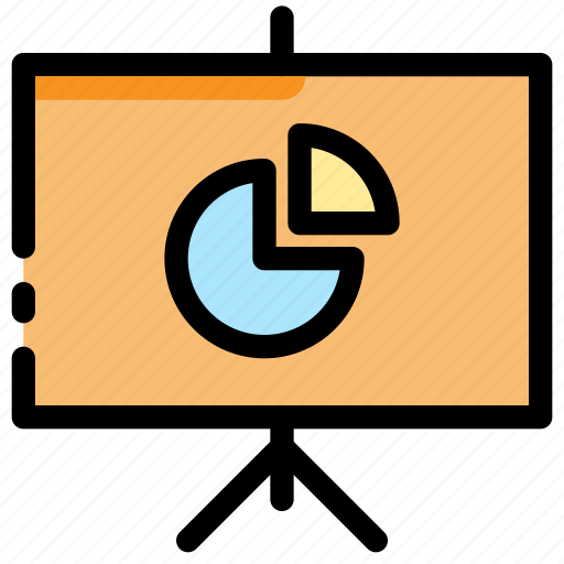 business, learn, meeting, presentation, study, training icon