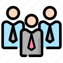 business, group, leadership, office, organization, people, team icon