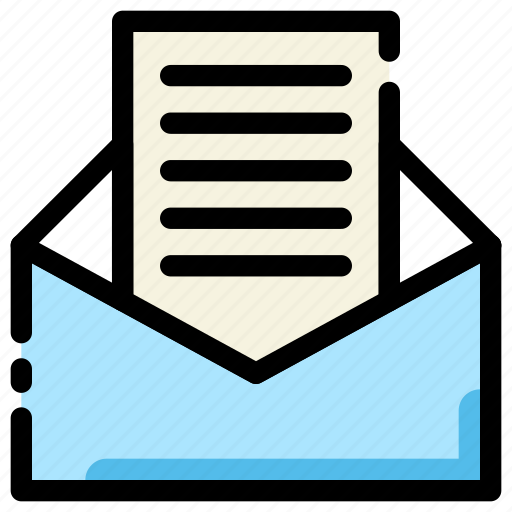 business, envelope, inbox, mail icon
